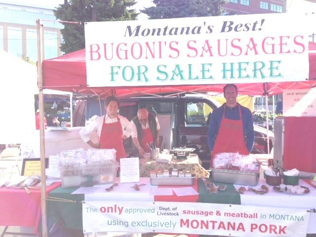 A Bugoni sausage, my kingdom for a Bugoni sausage.